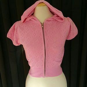 Summer zipped up hoodie
